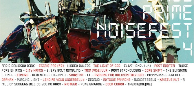 Optimus Prime Noisefest 4. For you!